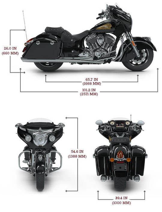 Chieftain classic specs lg